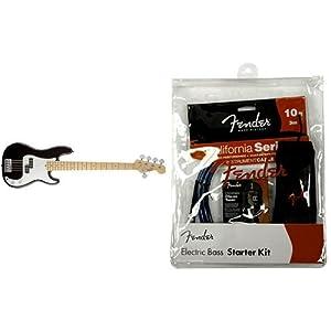 Fender エレキベースセット AM STD P-BASS V MN BLK