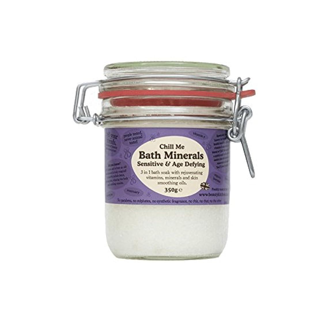 エコー乱気流ジャングル美しさのキッチンは私の敏感&年齢挑むバス鉱物350グラムを冷やします - Beauty Kitchen Chill Me Sensitive & Age Defying Bath Minerals 350g (Beauty...