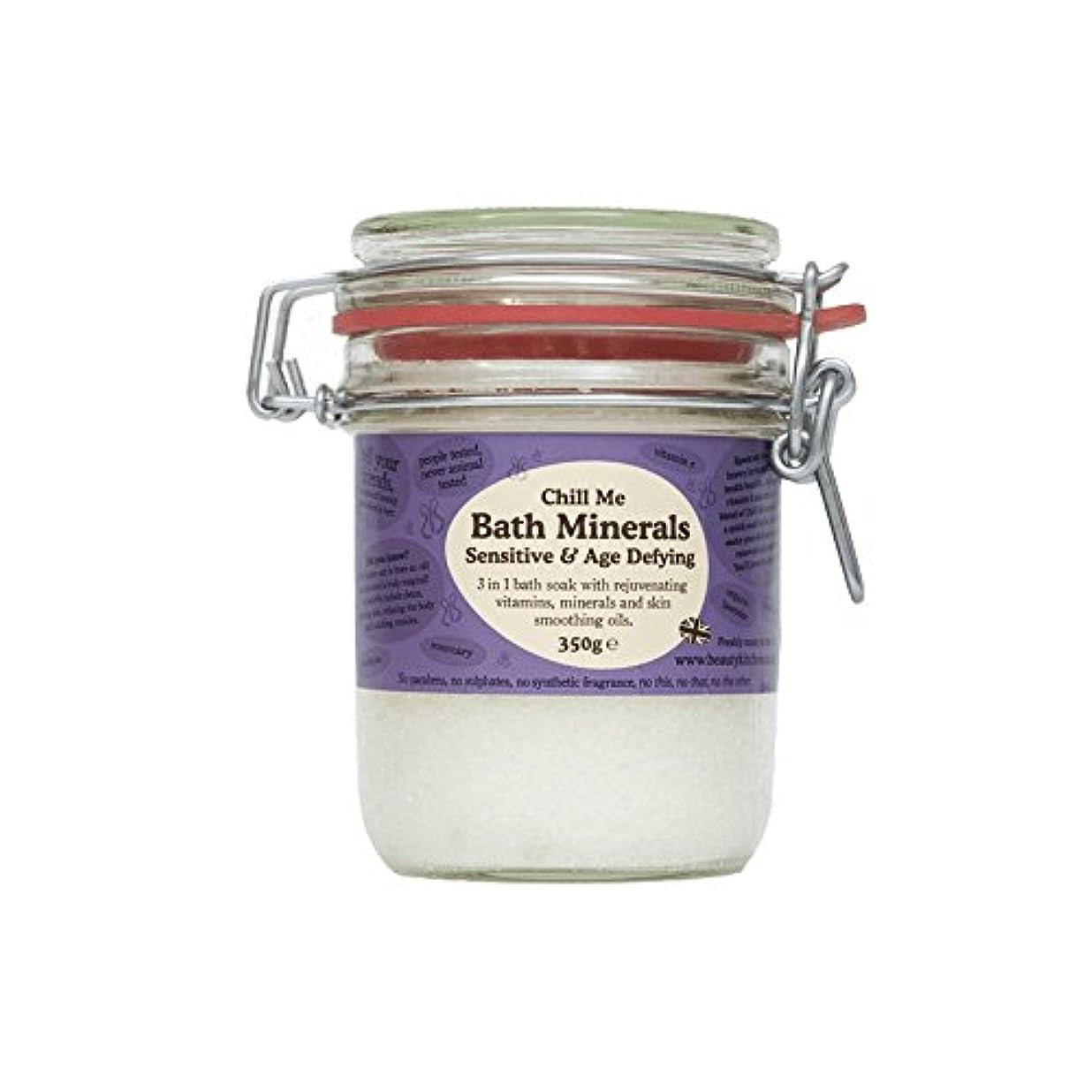 郡本土粒子美しさのキッチンは私の敏感&年齢挑むバス鉱物350グラムを冷やします - Beauty Kitchen Chill Me Sensitive & Age Defying Bath Minerals 350g (Beauty...