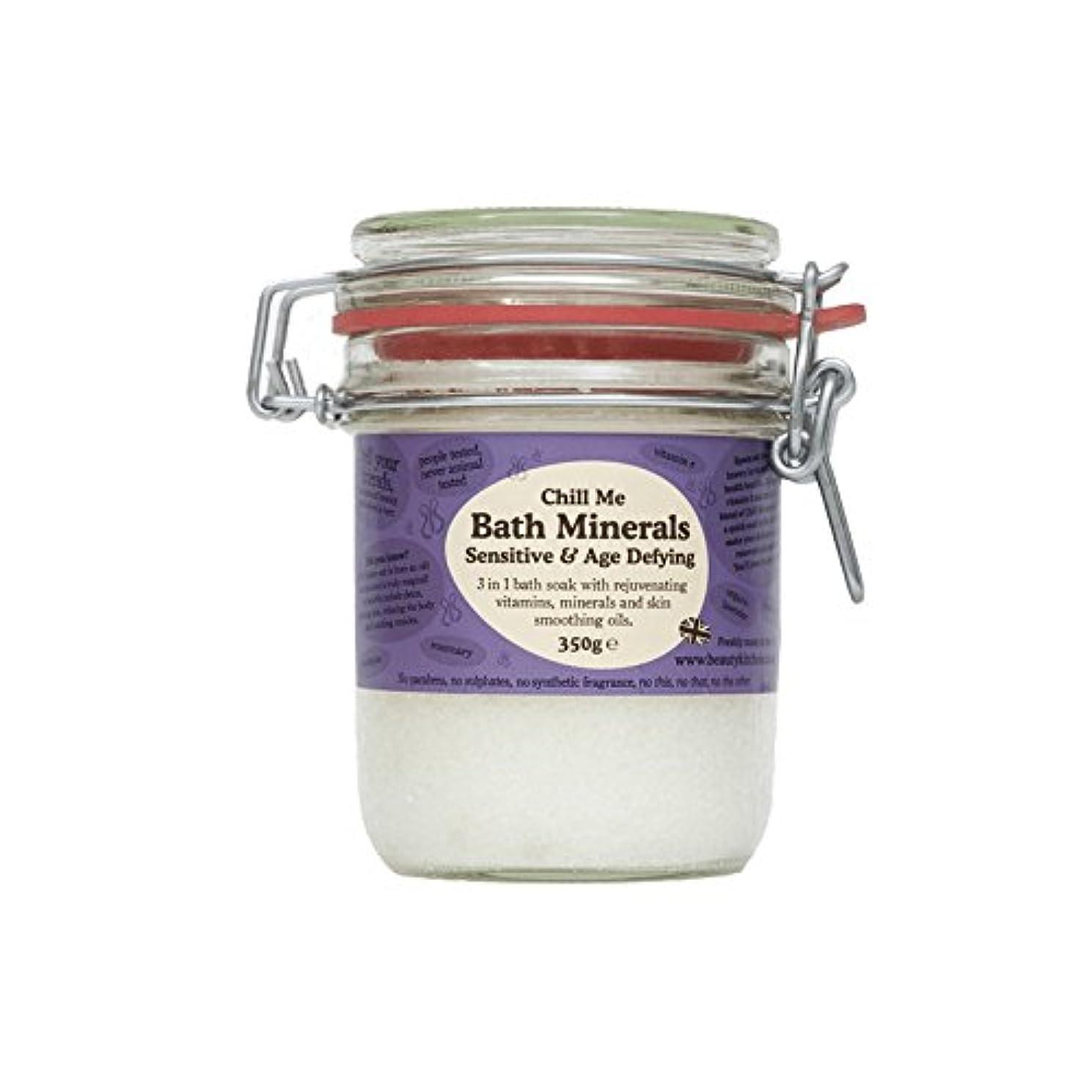 モール暴露する通信網美しさのキッチンは私の敏感&年齢挑むバス鉱物350グラムを冷やします - Beauty Kitchen Chill Me Sensitive & Age Defying Bath Minerals 350g (Beauty...