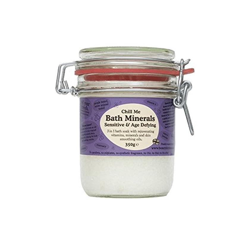 ヒップ虐殺ラダ美しさのキッチンは私の敏感&年齢挑むバス鉱物350グラムを冷やします - Beauty Kitchen Chill Me Sensitive & Age Defying Bath Minerals 350g (Beauty...