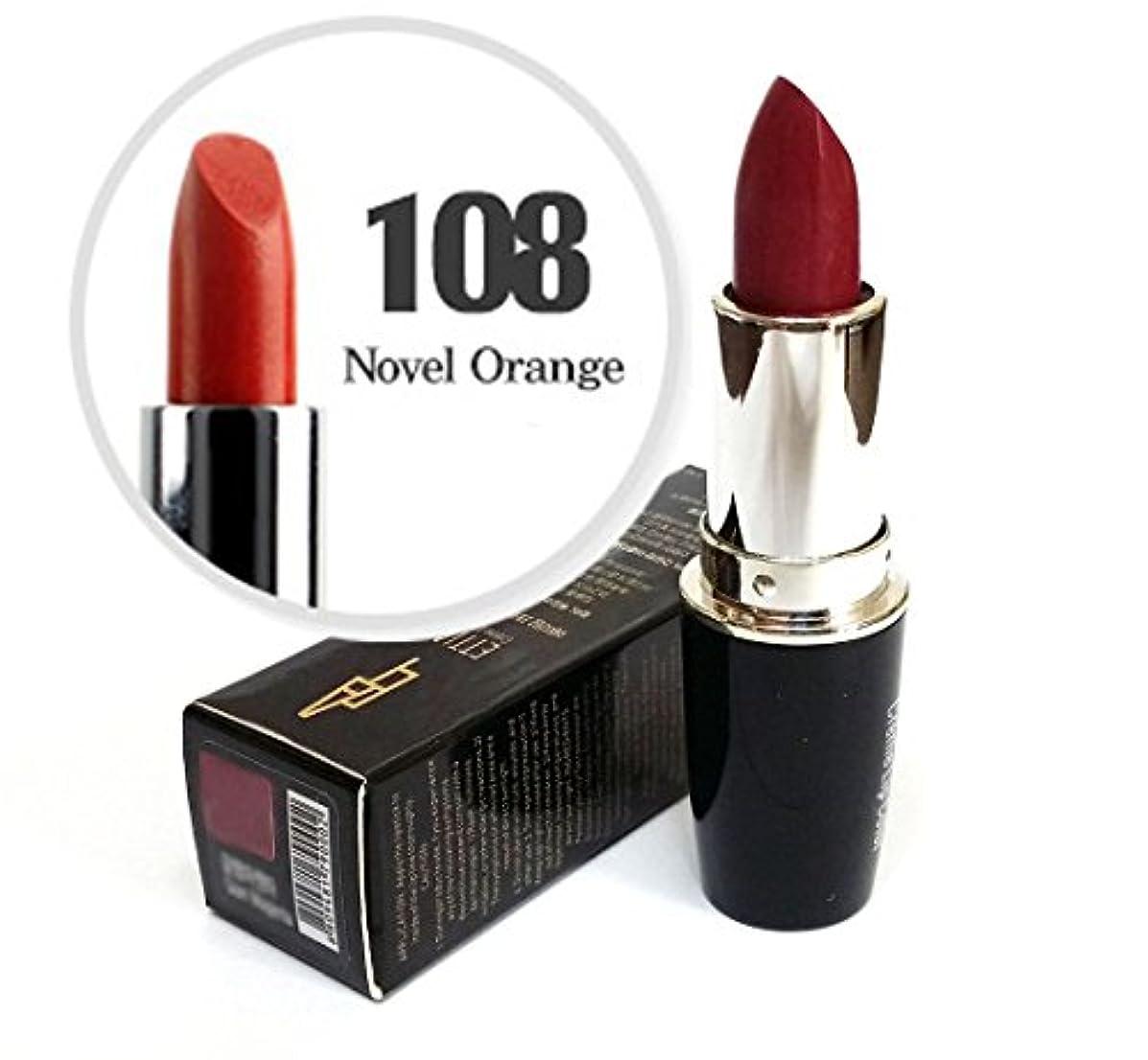 説明的悲観主義者貞[Ettian] クリームリップカラー3.5g / Cream Lip Color 3.5g / 新しい口紅 #108小説オレンジ/ New Lipstick #108 Novel Orange / ドライ感じることはありません...