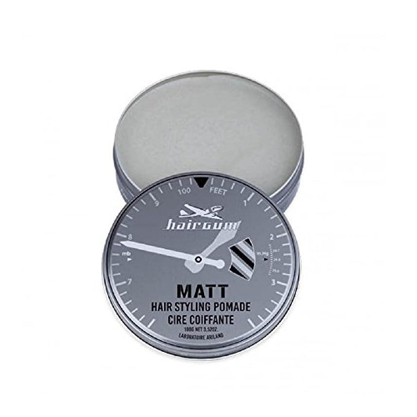 これらブームからに変化するhairgum(ヘアガム) Matt Pomade 100g ヘアガム マット 油性 ポマード グリース