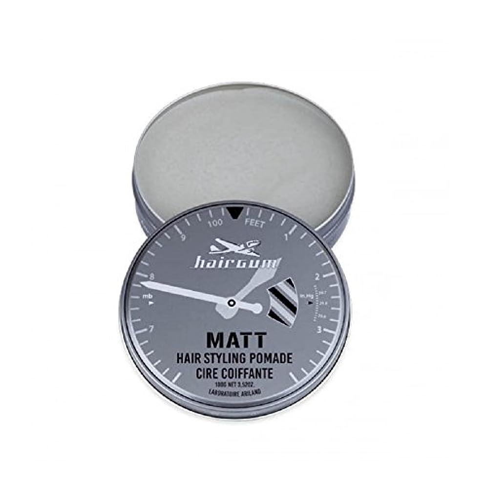 辛などう?シュリンクhairgum(ヘアガム) Matt Pomade 100g ヘアガム マット 油性 ポマード グリース