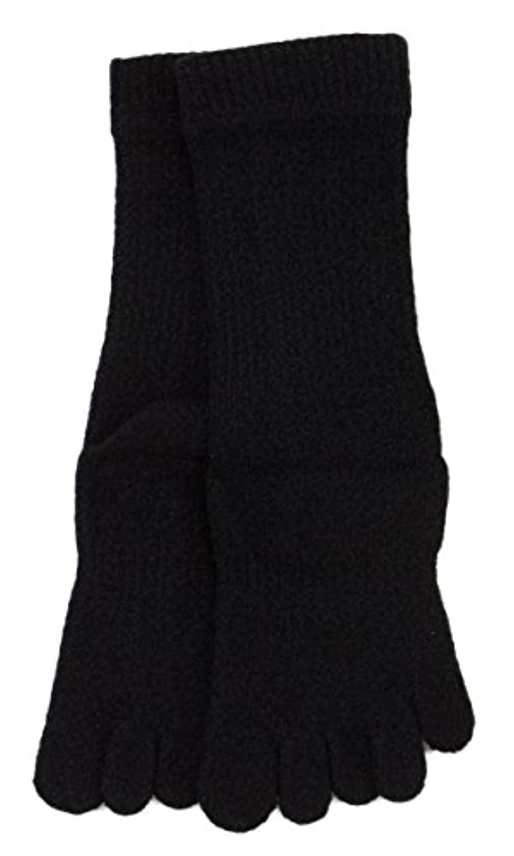 引き受けるナイロン宇宙LASANTE 1150:ユビレッグスポーツ厚手5本指ソックス(五本指靴下) S?M