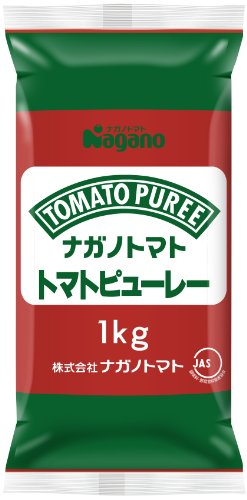 ナガノトマト トマトピューレー 1kg 業務用パウチピロータイプ