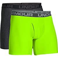 Under Armour Men's Original Series 6-inch Boxerjock Boxer Briefs- 2 Pack