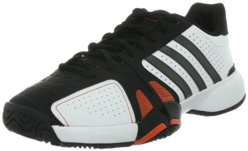 [アディダス] adidas バリケードコート AC  G45566 00 (ランニングホワイト/アイロン/ブラック/27)