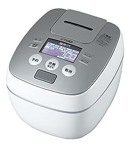 タイガー 炊飯器 圧力IH 「炊きたて」 5.5合 ラスターホワイト JPB-G100-WL