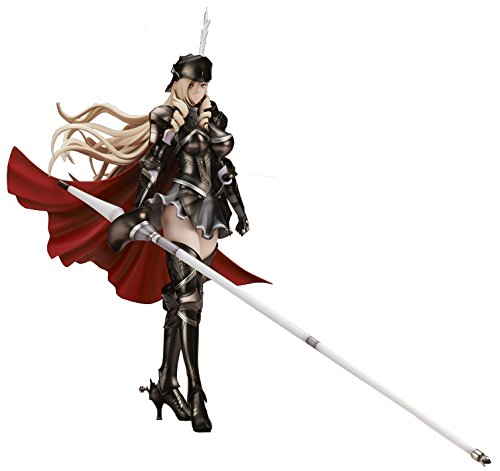 ワルキューレロマンツェ [少女騎士物語] スィーリア クマーニ エイントリー Black ver. 1/6スケール PVC製 塗装済み完成品フィギュア