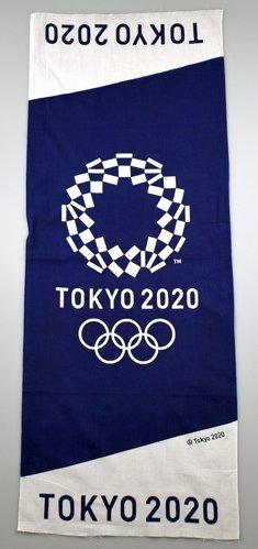 東京2020オリンピック エンブレム 手ぬぐい ベーシック ...