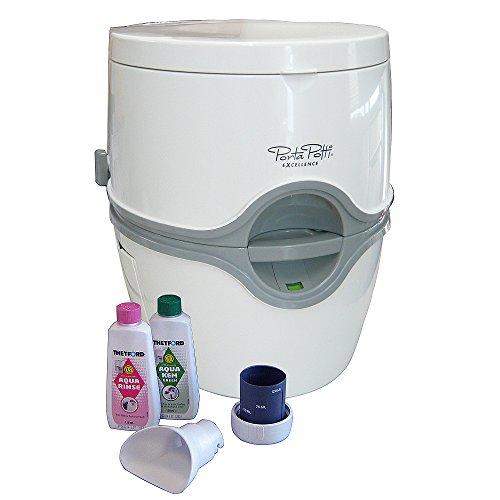 カーメイト 電動水洗式ポータブルトイレ ポルタポッティ ホワイト PPE002