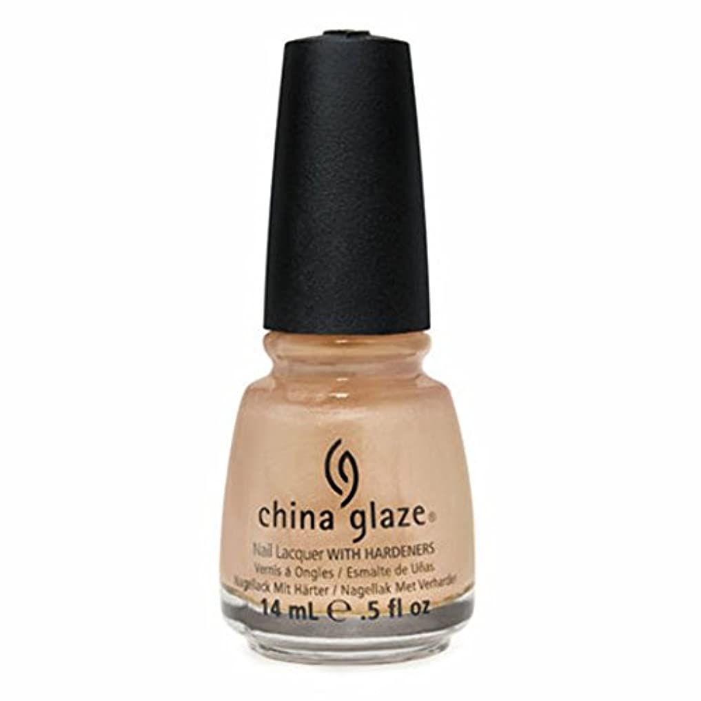 九時四十五分画面今晩CHINA GLAZE Nail Lacquer - Anchors Away - Knotty (DC) (並行輸入品)