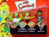 Simpsons 3 Pack w/ Homer As the Ingestible Bulk Vampiredna& Apu As Captain Quick Kaybee Exclusive [並行輸入品]