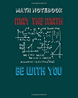 Math Notebook: math teacher gift - 50 sheets, 100 pages - 8 x 10 inches