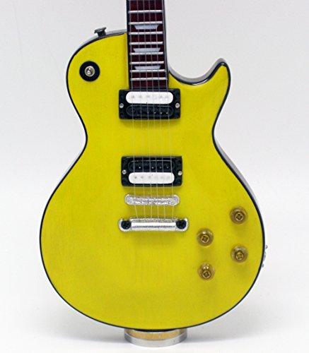 [해외][Musical Story] 미니 기타 1999 Canary Yellow 레스 폴 스타일/[Musical Story] Miniature Guitar 1999 Canary Yellow Les Paul Style