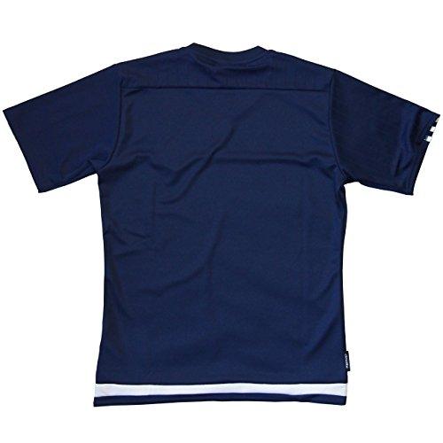(アディダス) adidas 日本代表 TIRO15 Tシャツ ダークブルー JHX94 S45676 M