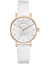 【クラス14】 KLASSE14 腕時計 VOLARE WHITE ROSE 36mm ローズゴールド / ホワイト 本革 メンズ レディース VO18RG009W [正規輸入品]