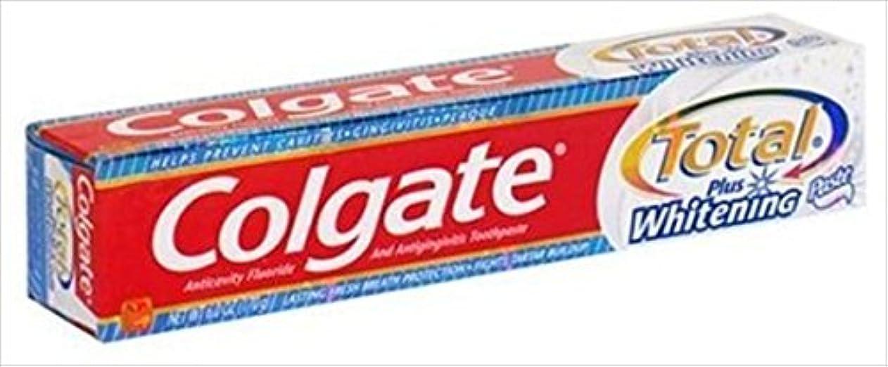 Colgate トータル歯磨き粉ホワイトニング - 6オズ、2パック