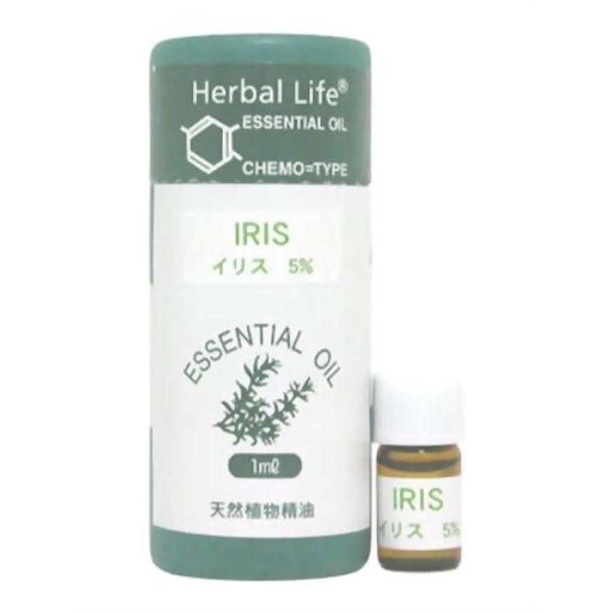 不道徳火山学推進力Herbal Life イリス(5%希釈液) 1ml