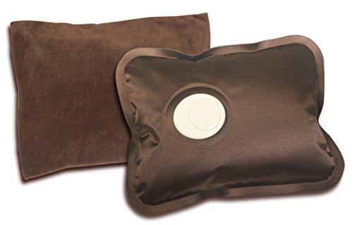 ハック 湯たんぽ ブラウン W23×D4.5×H17cm 蓄熱充電式湯たんぽ ヌックホット hac2031