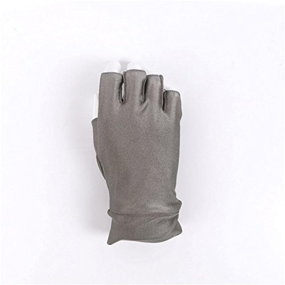 たっぷり苦しみ懸念釣りフライフィッシングSun手袋紫外線対策Moisture Wicking指なし通気性