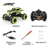 Tumdem 外部ワイヤレス制御RCスタントカー玩具1/16 12CHオールラウンドスタントクライミング高速リモートコントロールカー