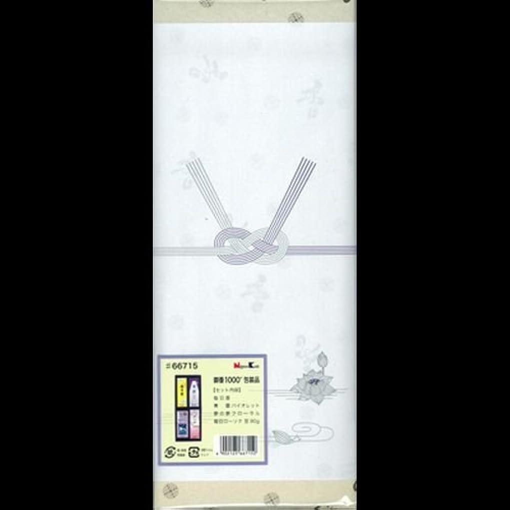 コミットメント写真文明化する【まとめ買い】御香セット1000 包装品 66715 ×2セット