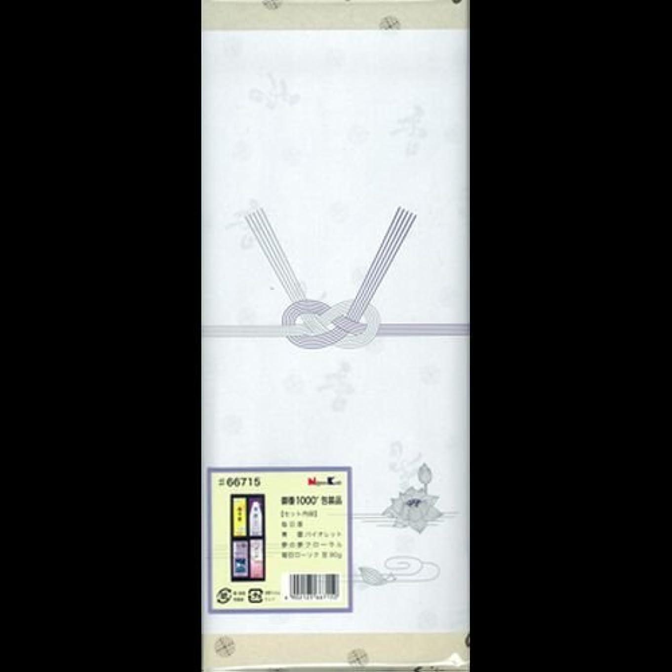 【まとめ買い】御香セット1000 包装品 66715 ×2セット