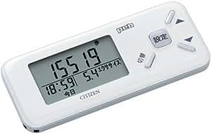 シチズン(CITIZEN) デジタル歩数計 Peb TW600-WH ホワイト