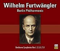 定期演奏会のベートーヴェン / ヴィルヘルム・フルトヴェングラー (Wilhelm Furtwangler conducts Beethoven Symphonies Nos.1,3,5,6,7,8) [CD] [国内プレス] [MONO] [日本語帯・解説付]