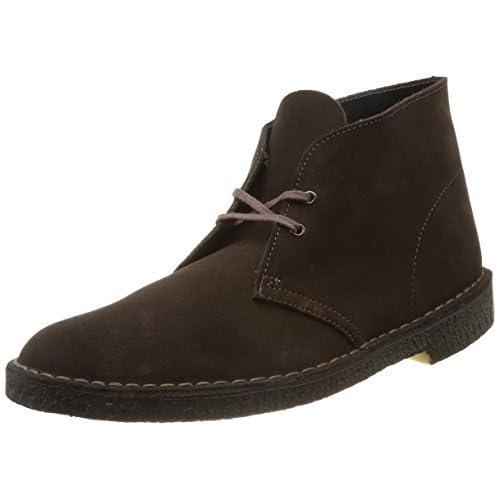 [クラークス] チャッカーブーツ メンズ デザートブーツ Mens Desert Boot(定番)  Brown Suede(ブラウンスエード/070)