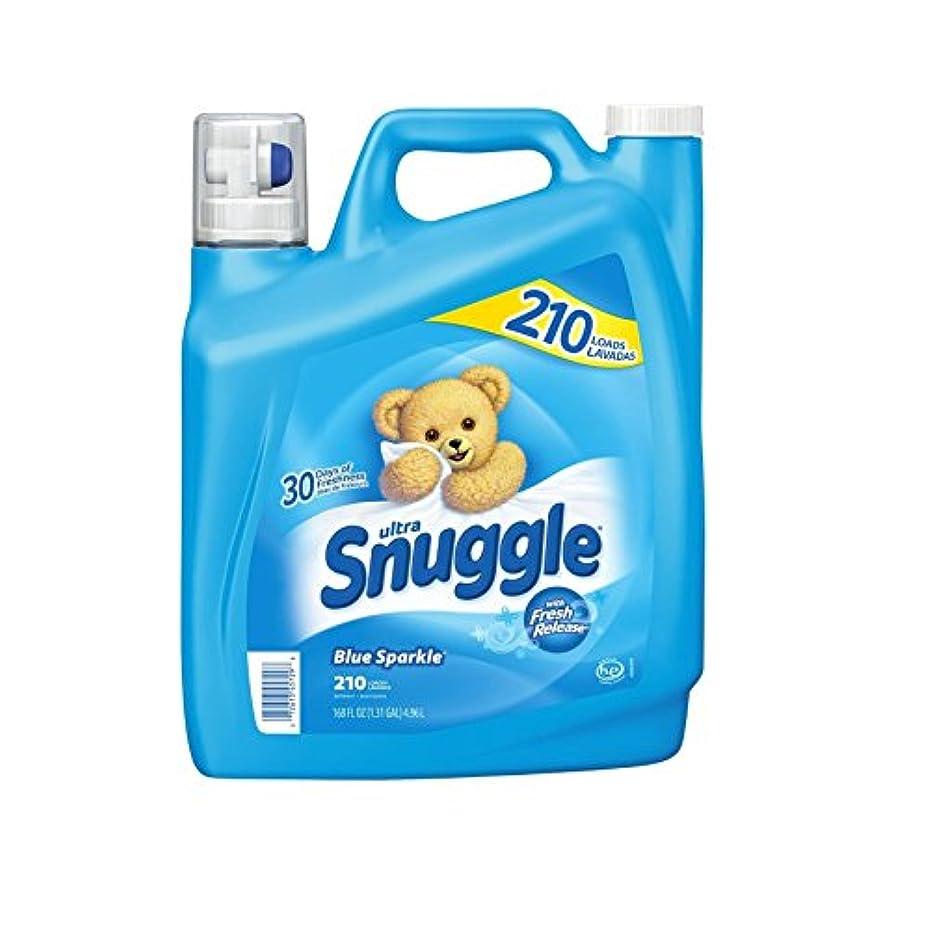 摘む鑑定軽蔑Snuggle(スナッグル) ブルースパークル 柔軟剤 ウルトラリキッド 4.96L (210回分)