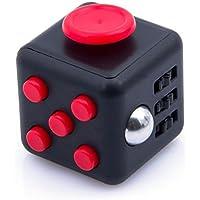 Fidget Cube 6in1 、Yoozonストレス解消キューブ ルービックキューブ フィジェットキューブ 不安 緊張 リリーフ ルービックキューブ おもちゃ 手持ちポケットゲーム 男女老若用 仕事や勉強などの玩具