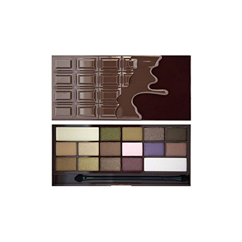 ビジョンこれらせがむI Heart Eye Shadow Palette I Heart Chocolate - 私は心のアイシャドウパレットハートチョコレート [並行輸入品]