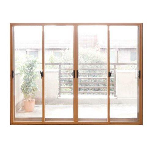 楽窓II 4枚引き違い用【Q-5 高さ1851-2050mmx幅2801-3000mm】ポリカーボネイト使用断熱内窓