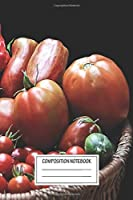 """Notebook: Today's Harvest , Journal for Writing, Size 6"""" x 9"""", 164 Pages"""