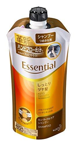 エッセンシャル しっとりツヤ髪 シャンプー 詰替 340ml