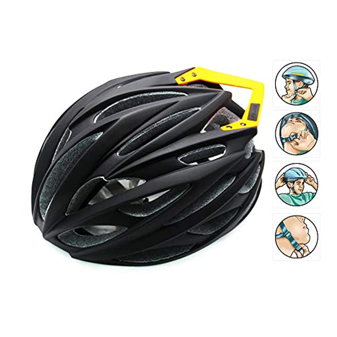 階バブルケントロード、マウンテンバイク用ヘルメット/キールヘルメット/テールヘルメット付き/アウトドア用乗馬用帽子/自転車用ヘルメット