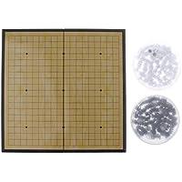 Baosity ポータブル 折りたたみ チェスボード 磁気 チェス盤 囲碁 チェスゲーム