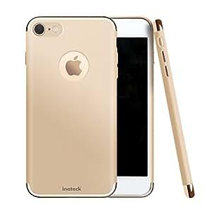 Inateck iPhone 7 ケース スリム 小型 カバー 衝撃吸収 バンパー アップル アイフォン7 4.7インチ対応、ゴールド