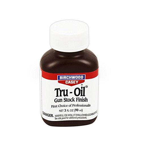 トゥルーオイル 90ml 輸入品 Birchwood Casey Tru - Oil 木製ストック仕上げ剤 銃床仕上げ剤 ストックオイ...