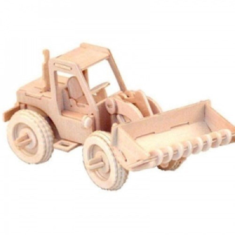 Wood Craft automobile - Heavy equipment bulldozer