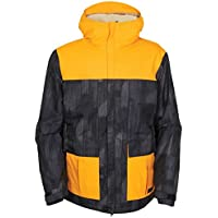 メンズ686 Authentic Insider Insulated Jacketゴールドカラーブロック( XL )