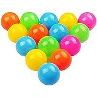 YiyiLai 子供 おもちゃ カラーボール ポリエチレン ベビー ボールプール用 50個入り 直径6cm 明るいカラー