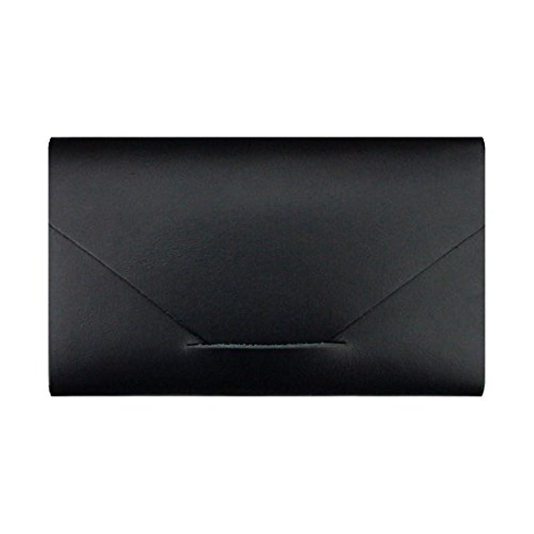 先見の明つなぐ留まるMODERN AGE TOKYO 2 カードケース(サシェ3種入) ブラック BLACK CARD CASE モダンエイジトウキョウツー