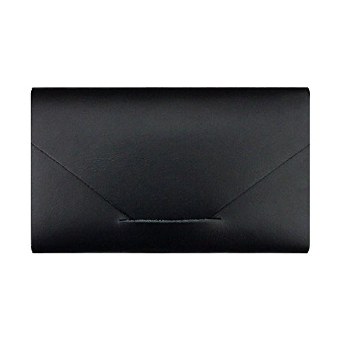 インフルエンザエミュレートするちらつきMODERN AGE TOKYO 2 カードケース(サシェ3種入) ブラック BLACK CARD CASE モダンエイジトウキョウツー