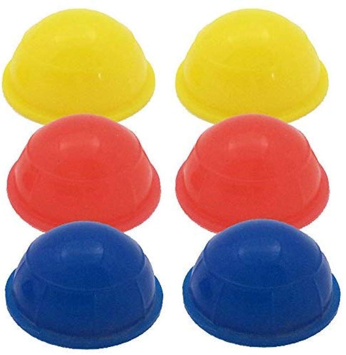 どれチョップチョップミニ簡易シリコン製吸い玉カップ 6個セット