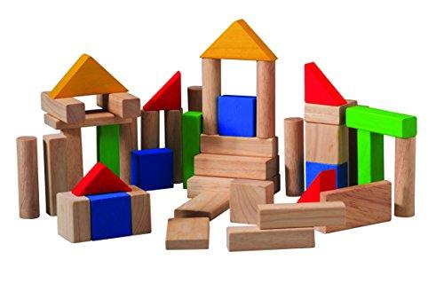 木のおもちゃ 50ブロック