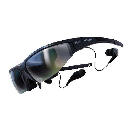 Vuzixビデオアイウェア多くの映像機器から大画面2D/3Dで視聴できる装着...